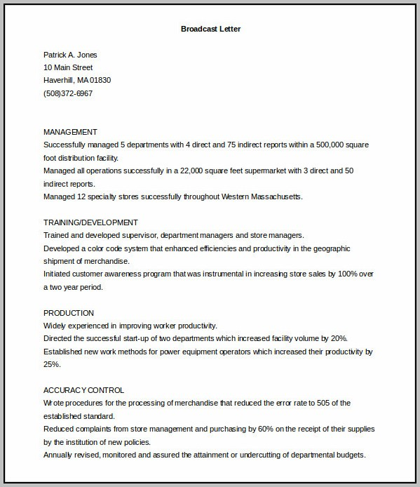 Free Printable Resume And Cover Letter