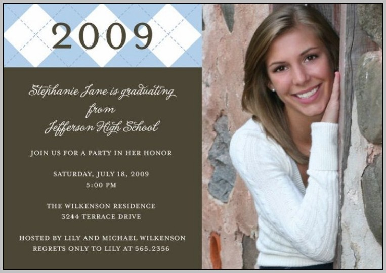 Graduation Announcement Cards