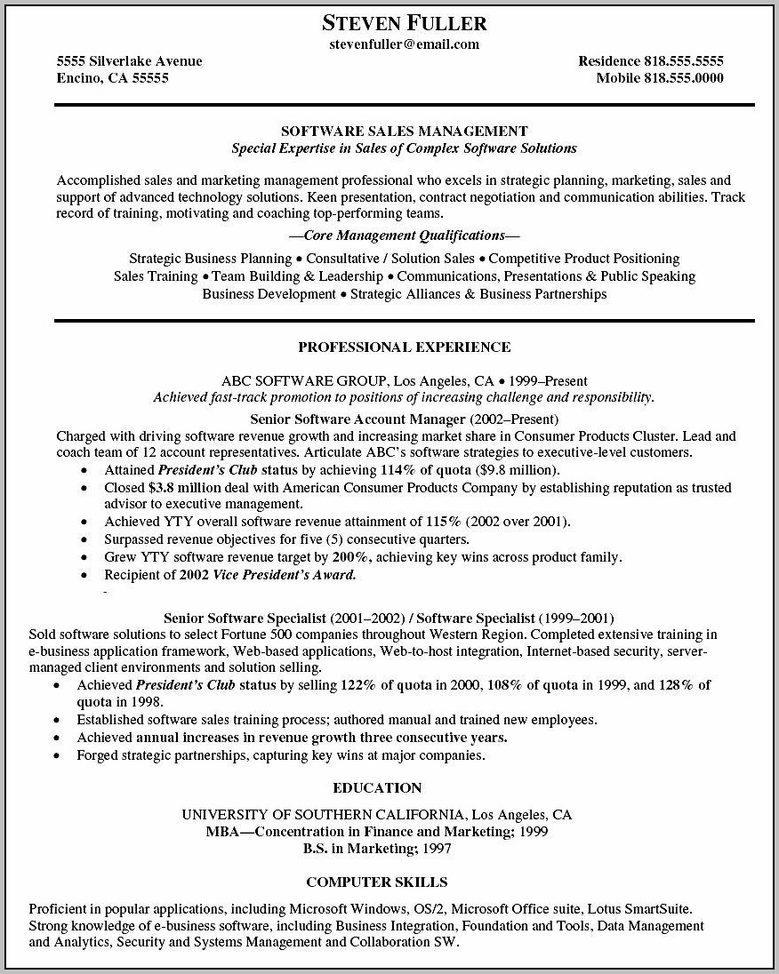 Resume For Accountant Executive
