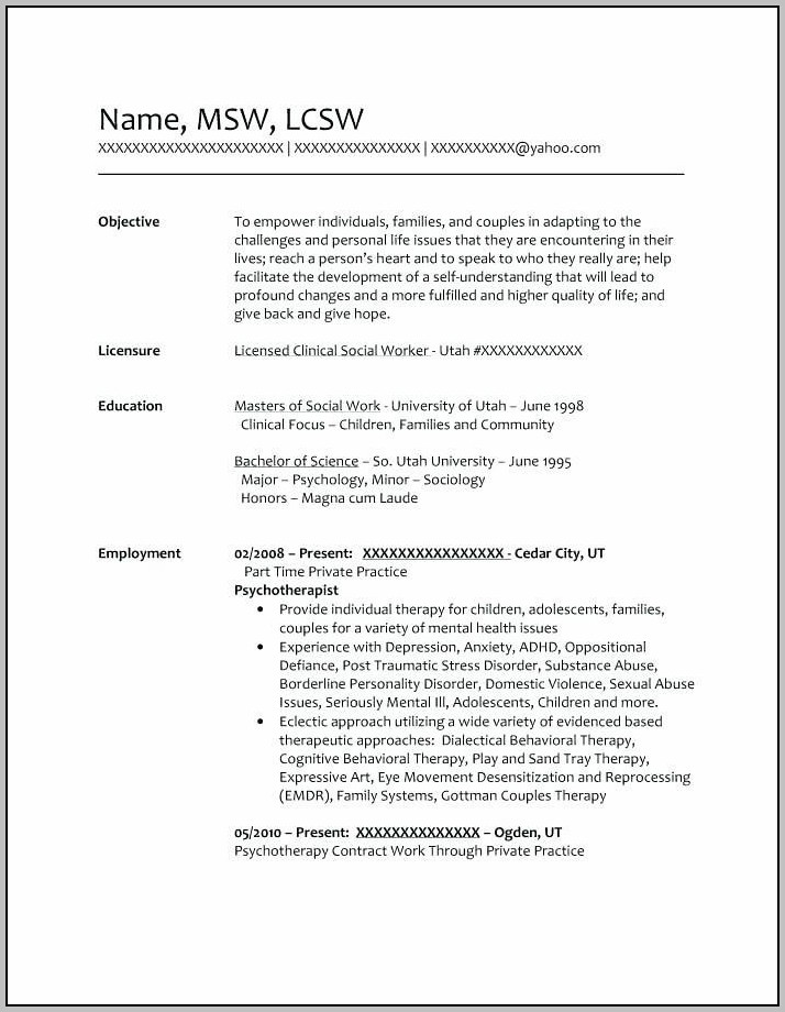 Resume For Rn Case Manager
