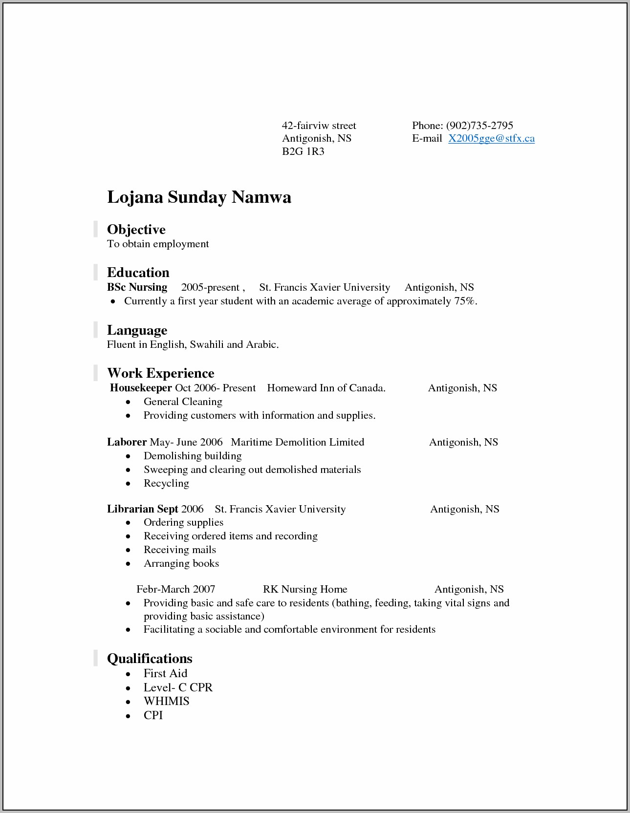 Resume For Rn With 10 Years Experience