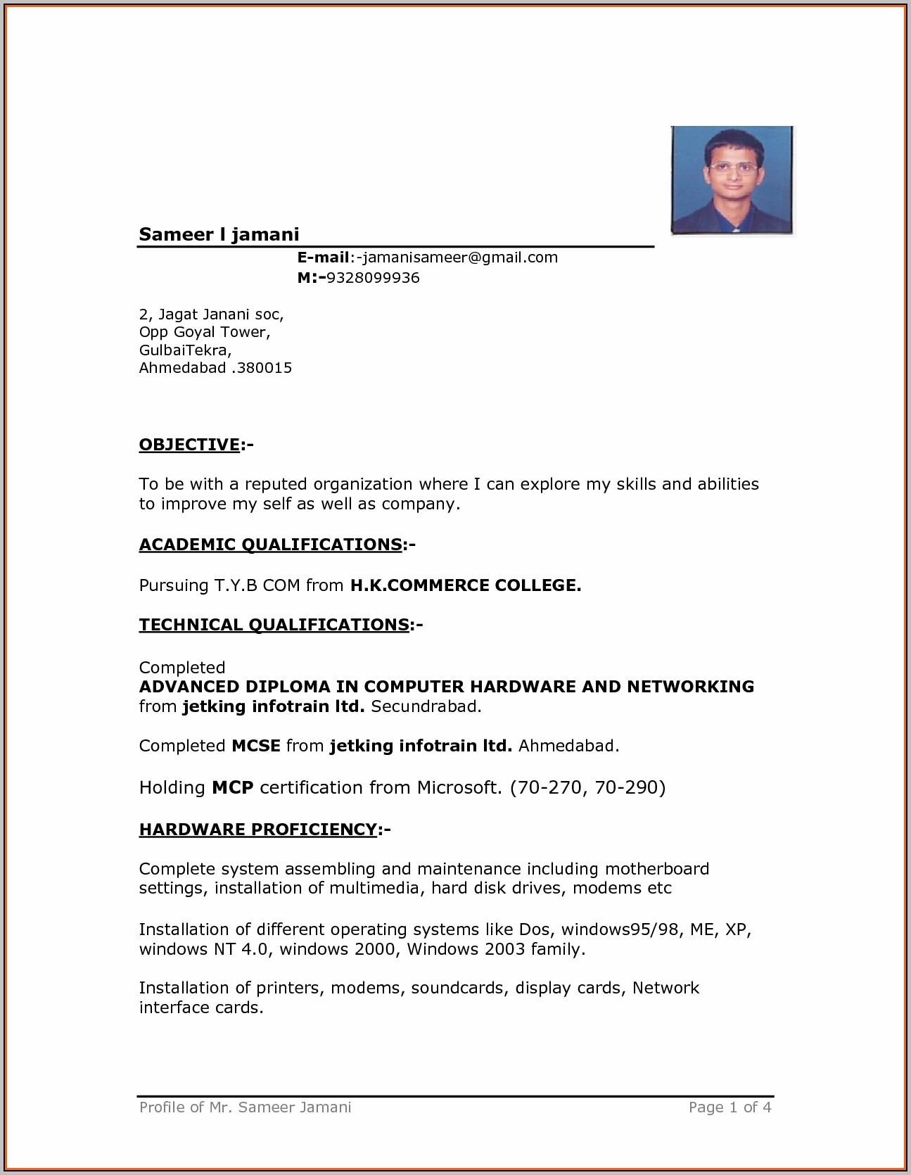 Resume Format In Ms Word Free Download Resume Format In Ms Word Within 81 Captivating Resumes On Microsoft Word