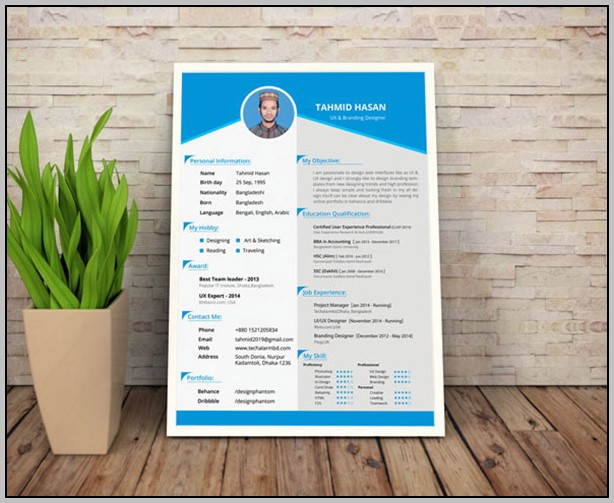 Resume Templates Free Download In Html
