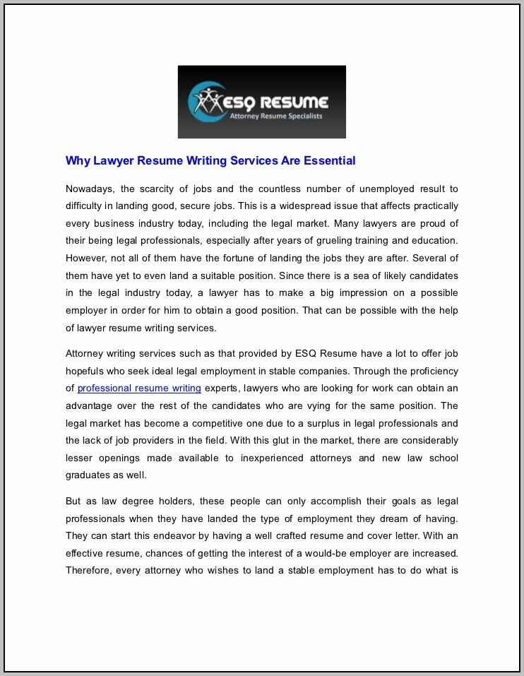 Resume Writing Service Houston Tx