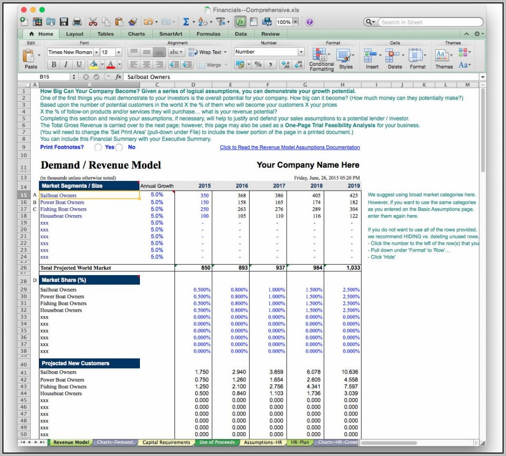 Best Excel Templates For Business
