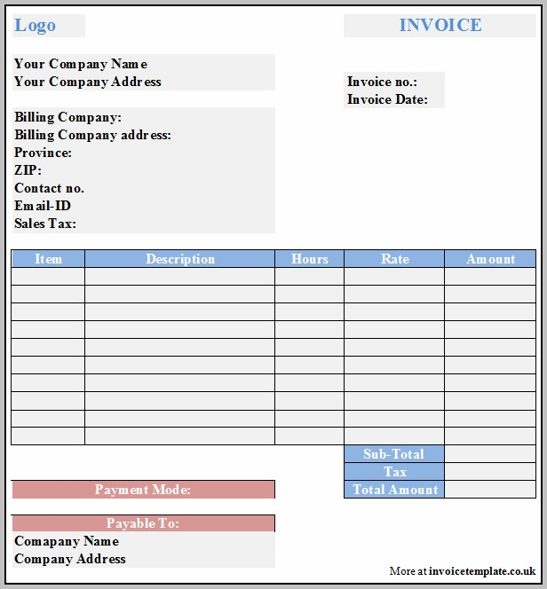 Business Invoices Online