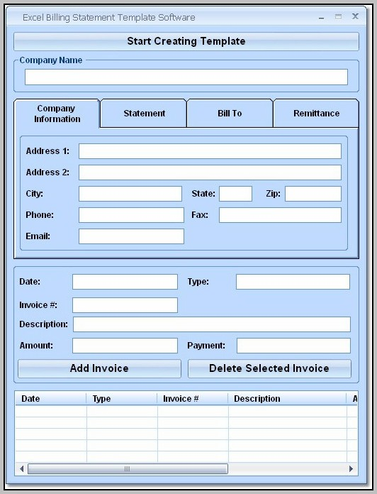Create Excel Form Template