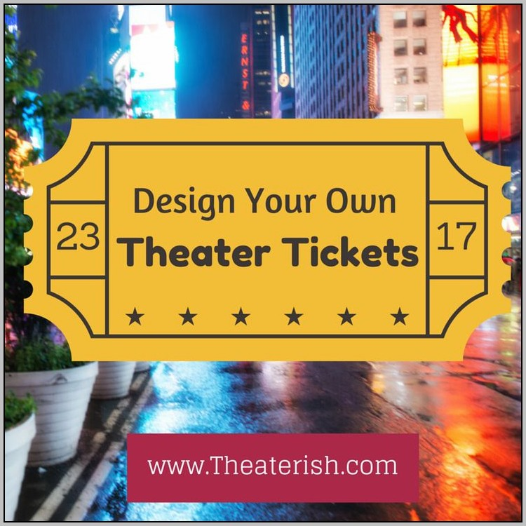 Customizable Ticket Template