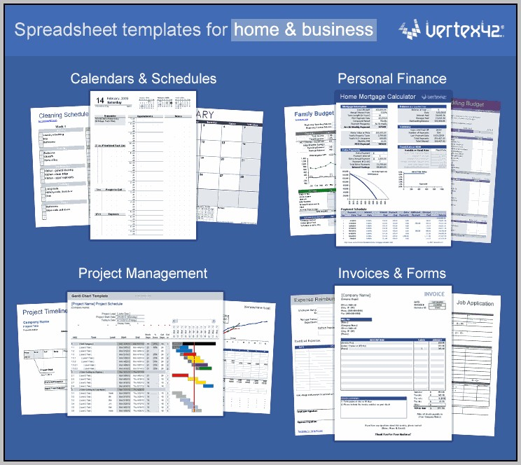 Easy Excel Spreadsheet Templates