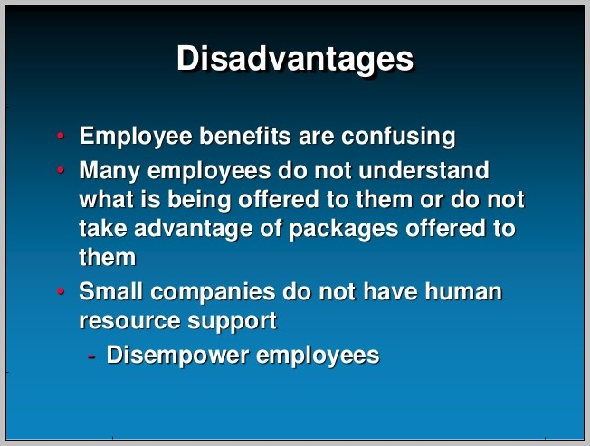 Advantages Of An Employee