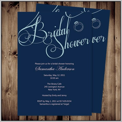 Affordable Bridal Shower Invitations