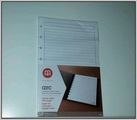 Arc Accessories And Refill Paper