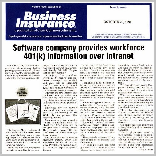 Articles On Employee Benefits And Services