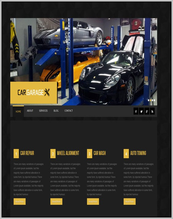 Auto Dealer Wordpress Theme Free Download