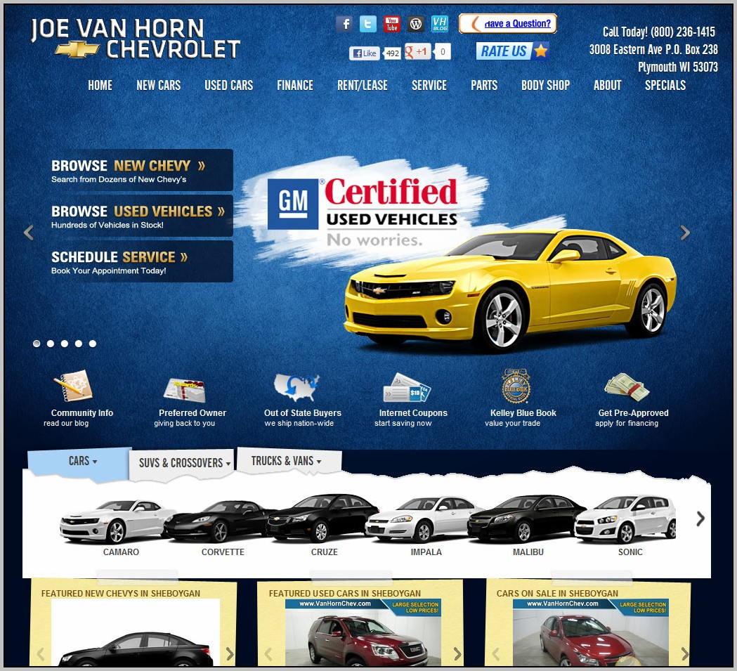 Auto Sales Websites