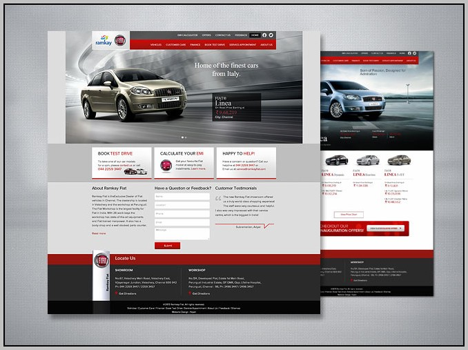 Automobile Sales Websites