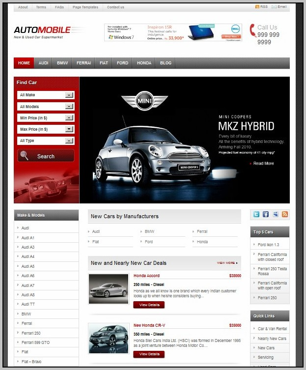 Automobile Sites