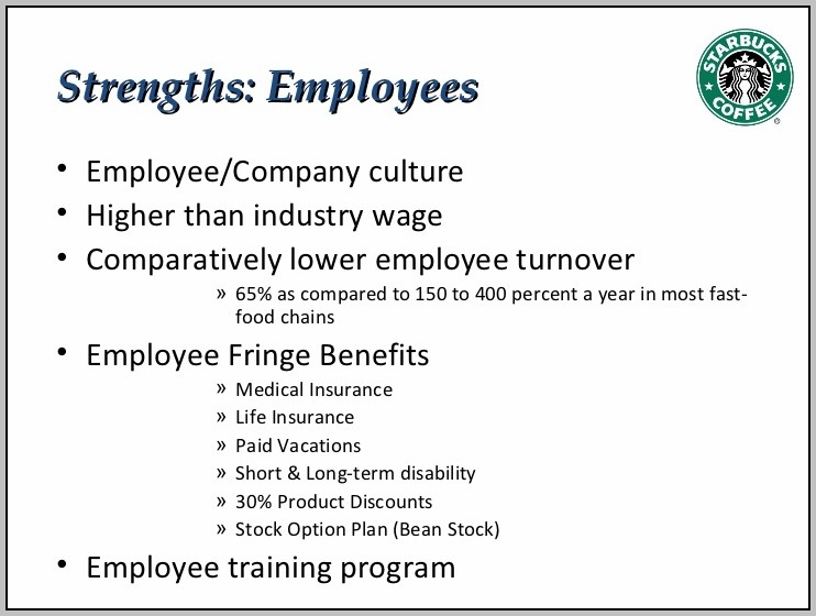 Benefits And Incentives For Employees