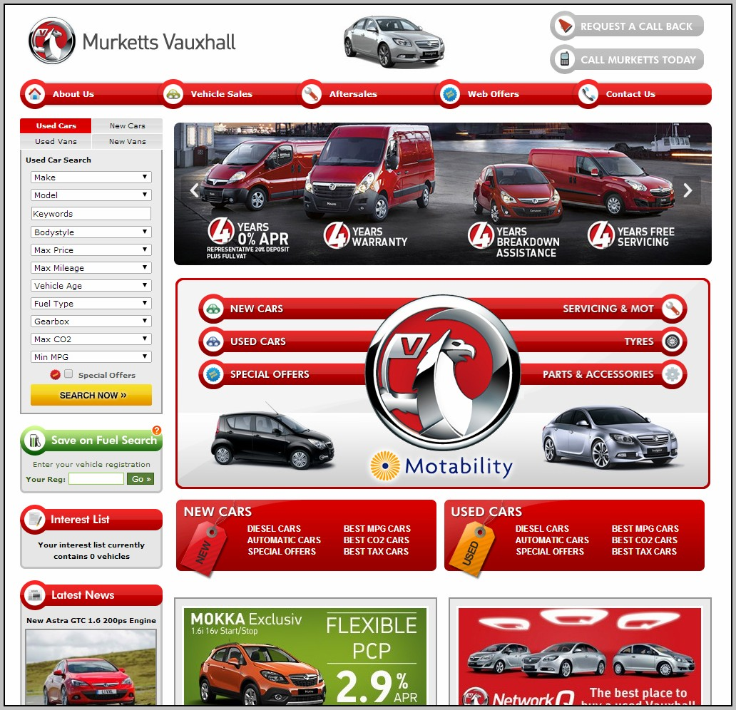 Best Automotive Websites