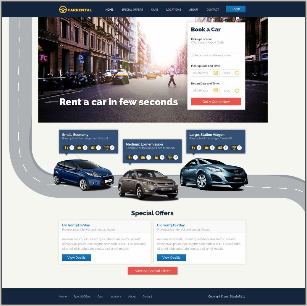 Best Car Website Design