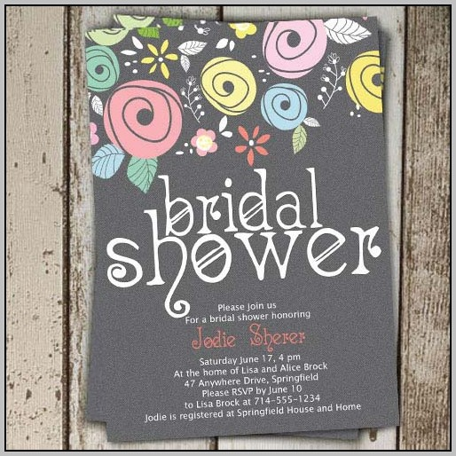 Best Wedding Shower Invitations