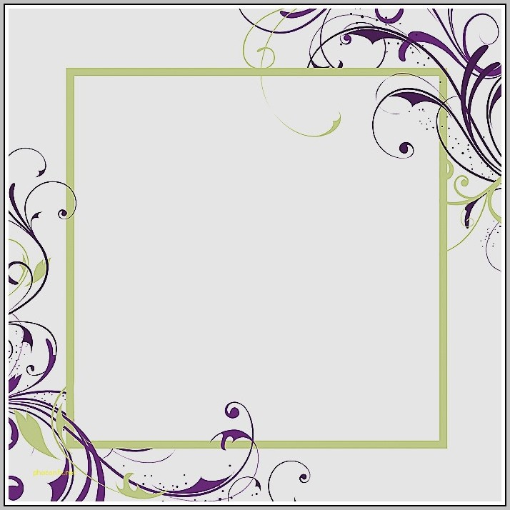 Blank Bridal Shower Invitations Templates