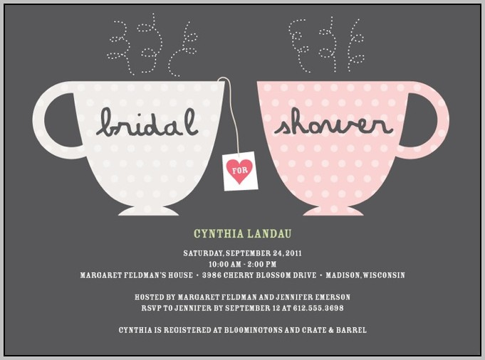 Bridal Party Invitations