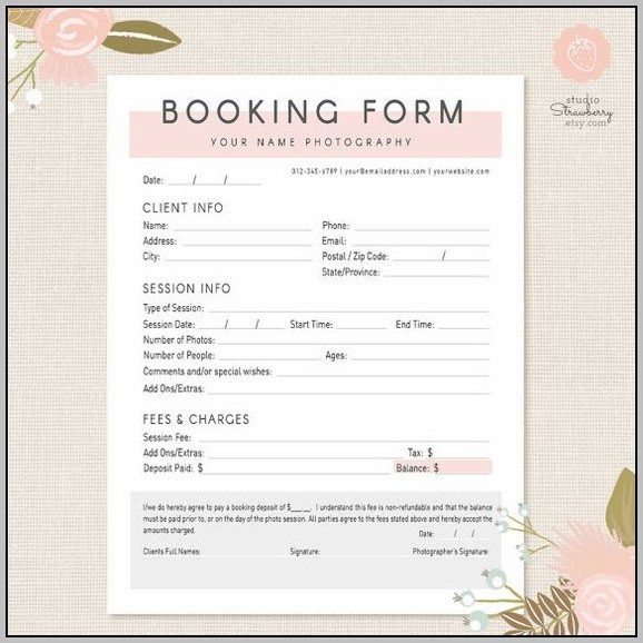 Car Booking Template