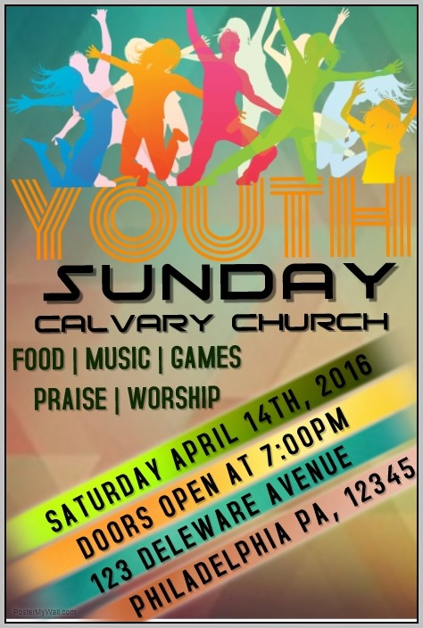 Church Event Flyer Templates