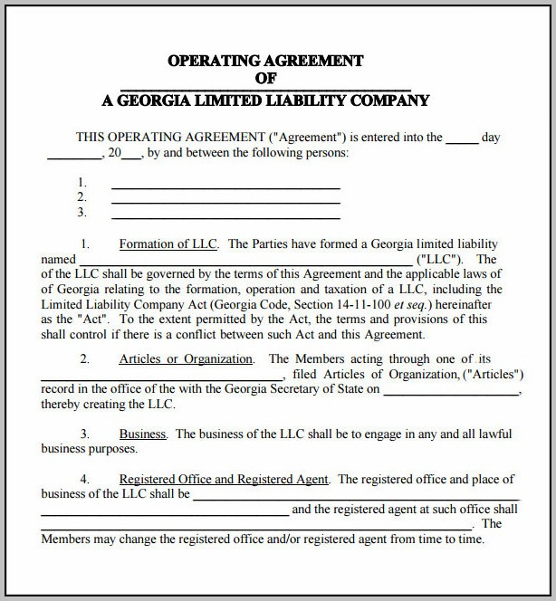 Company Agreement