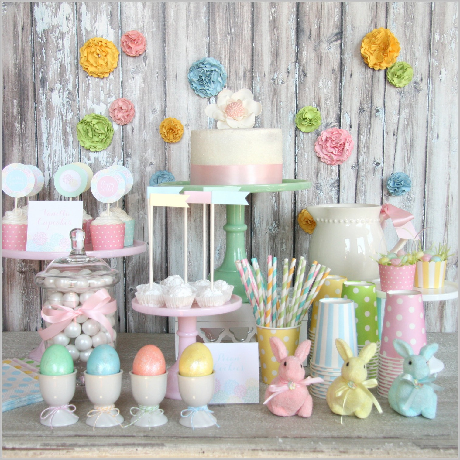 Easter Birthday Theme