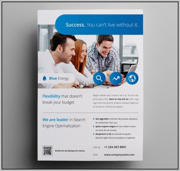 Ad Flyer Template