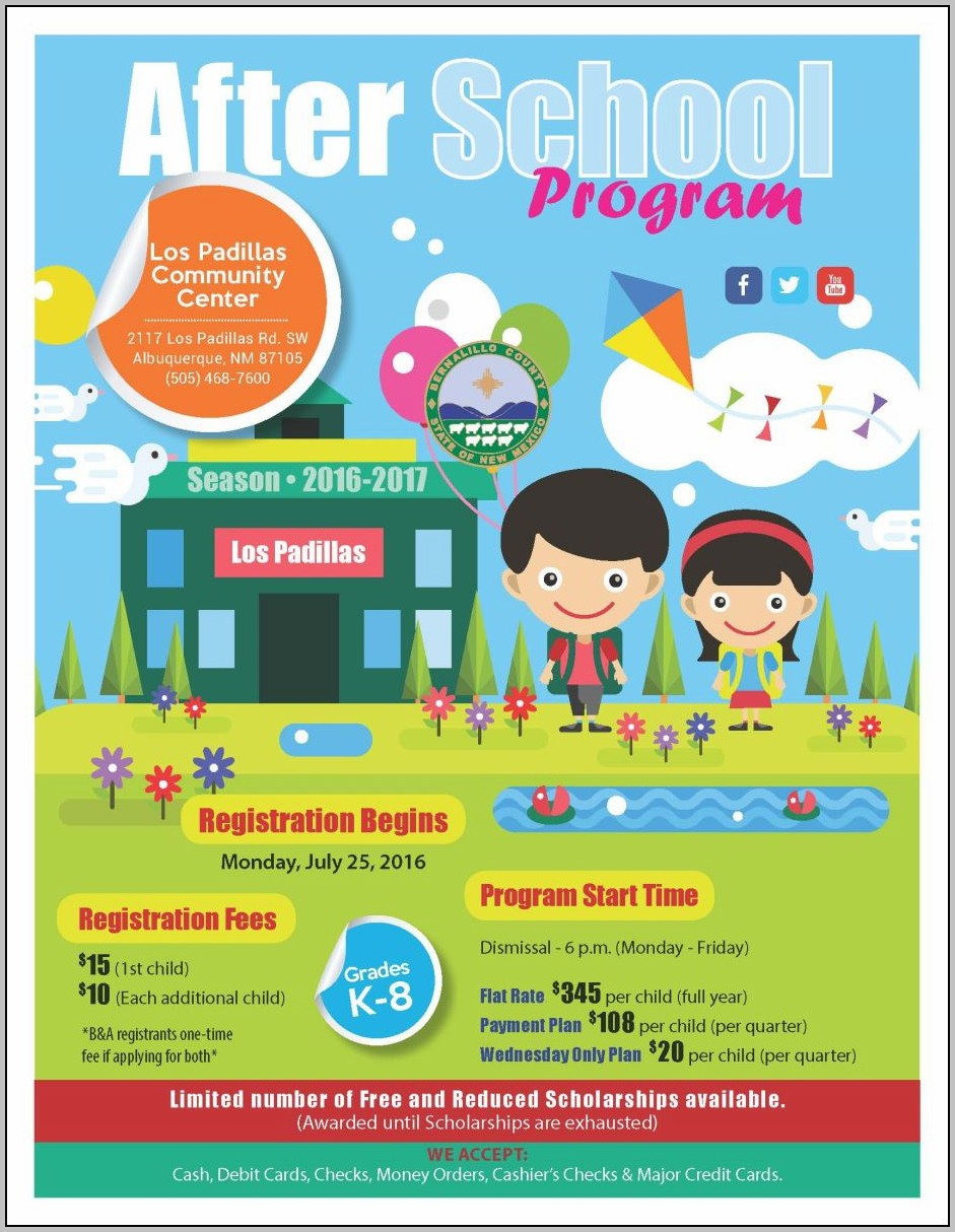 After School Program Business Plan