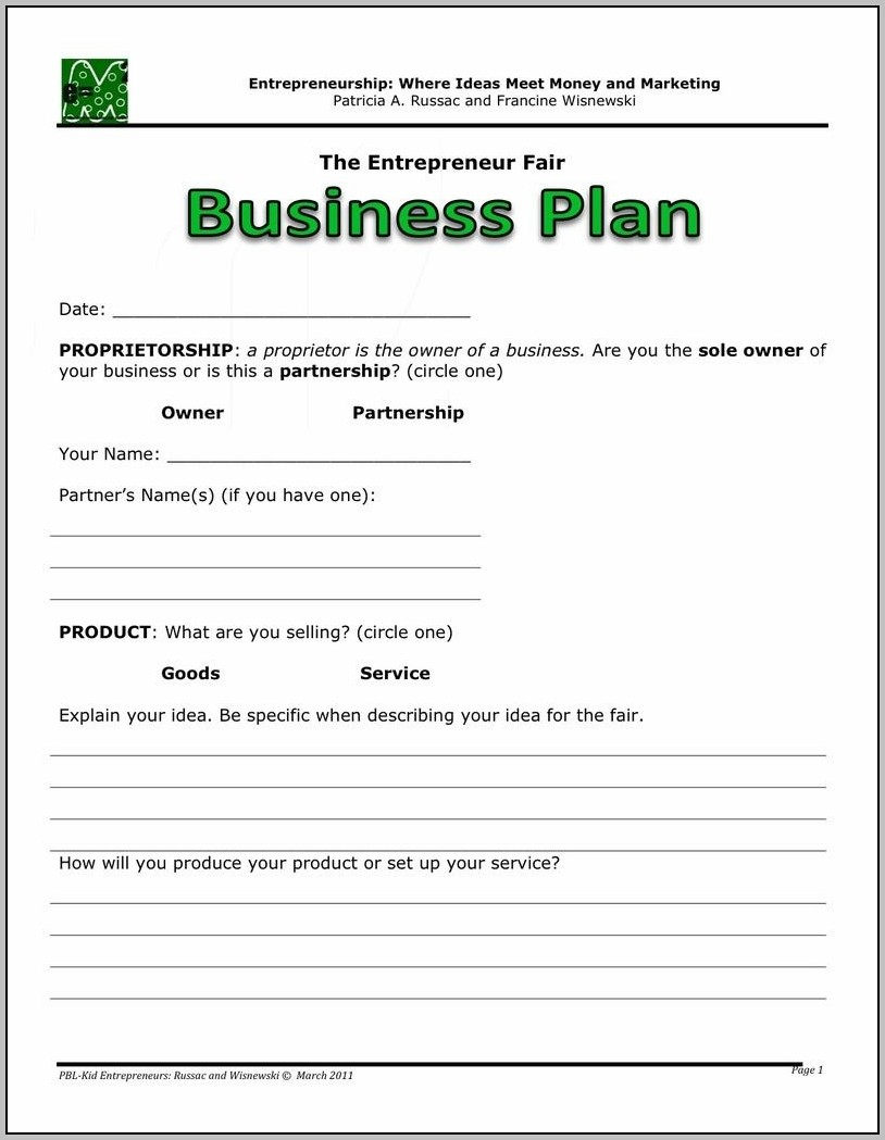 Best Business Plan