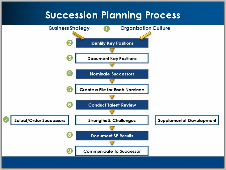 Executive Succession Planning Process