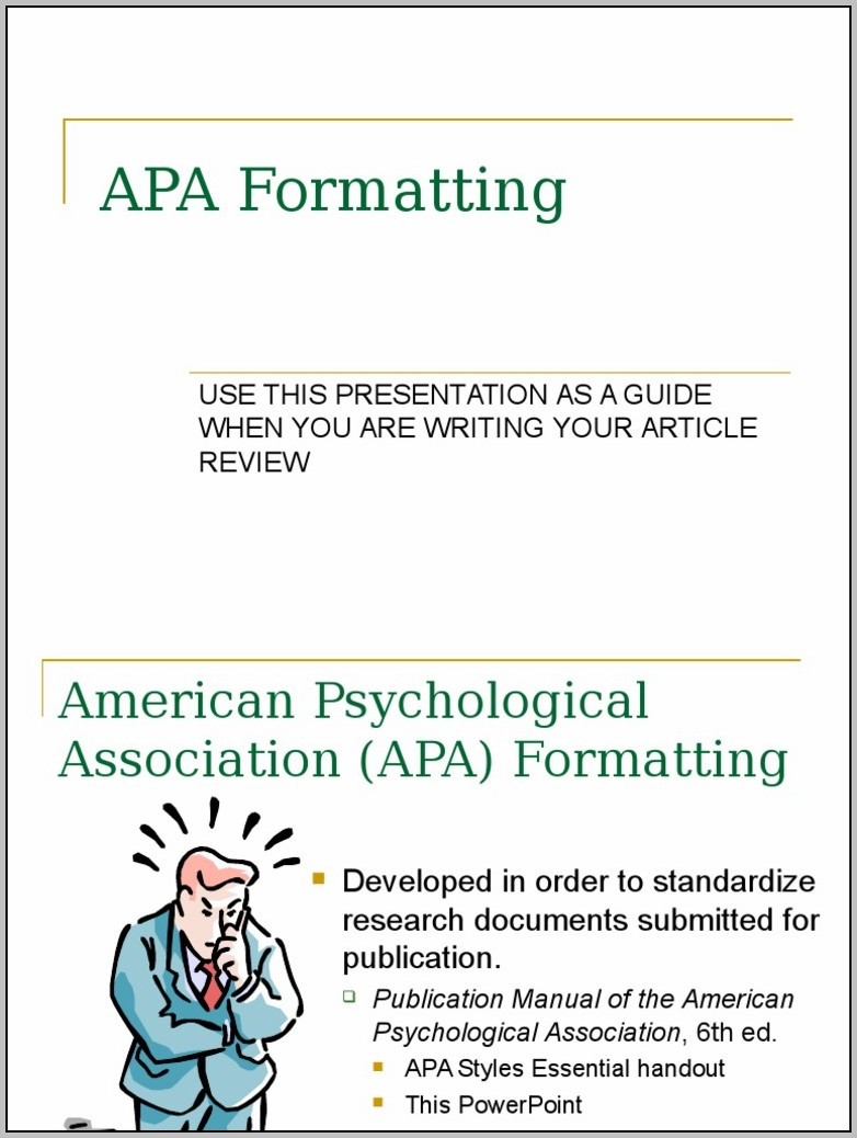 American Psychological Association Citation