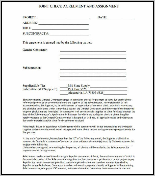 Background Check Agreement Template