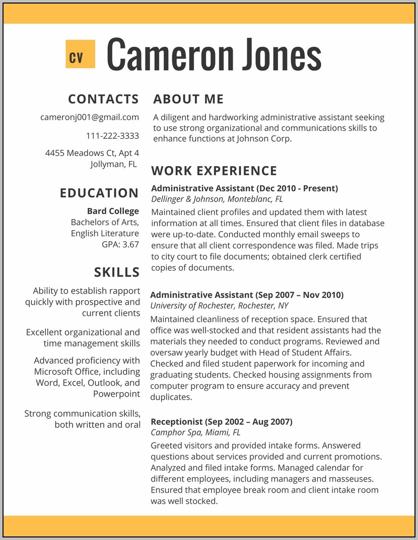 Best Resume Examples 2017 Online | Resumes 2017 Throughout Job Resume Template 2017