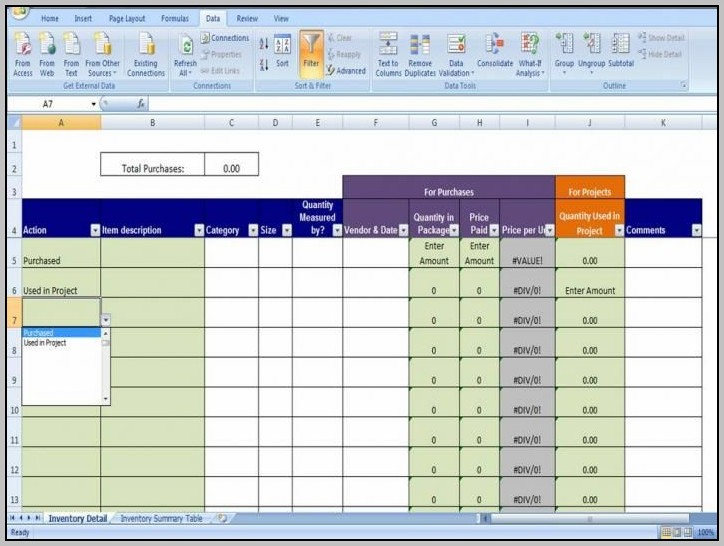 Best Way To Manage Inventory In Excel