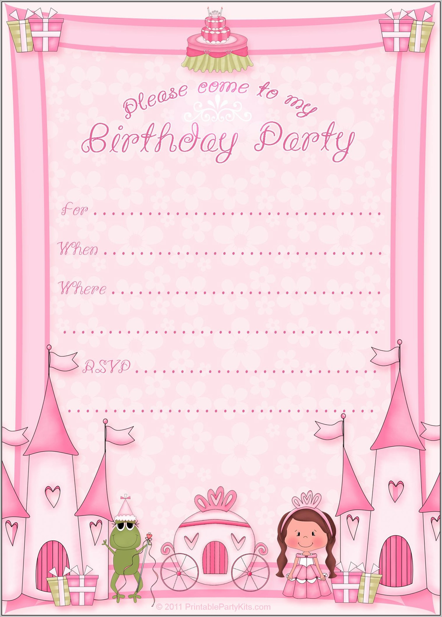 Birthday Invitation Maker Free
