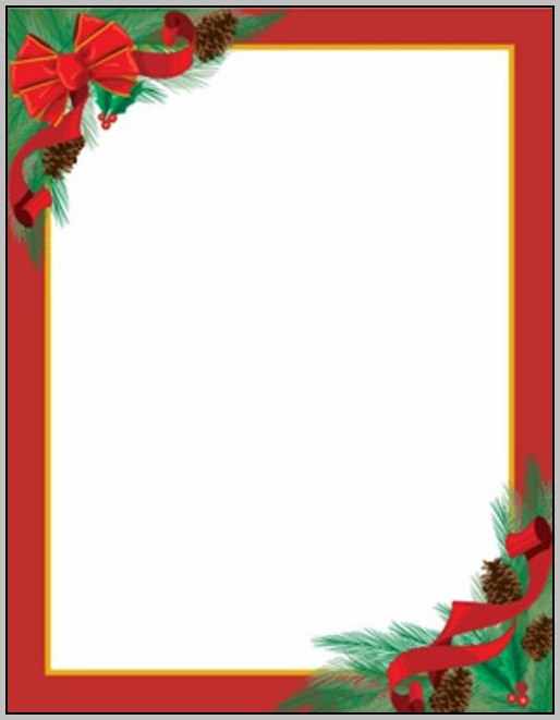Christmas Document Template