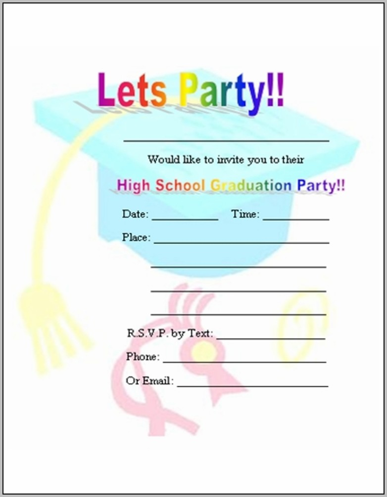 Create Free Invitations Online To Print