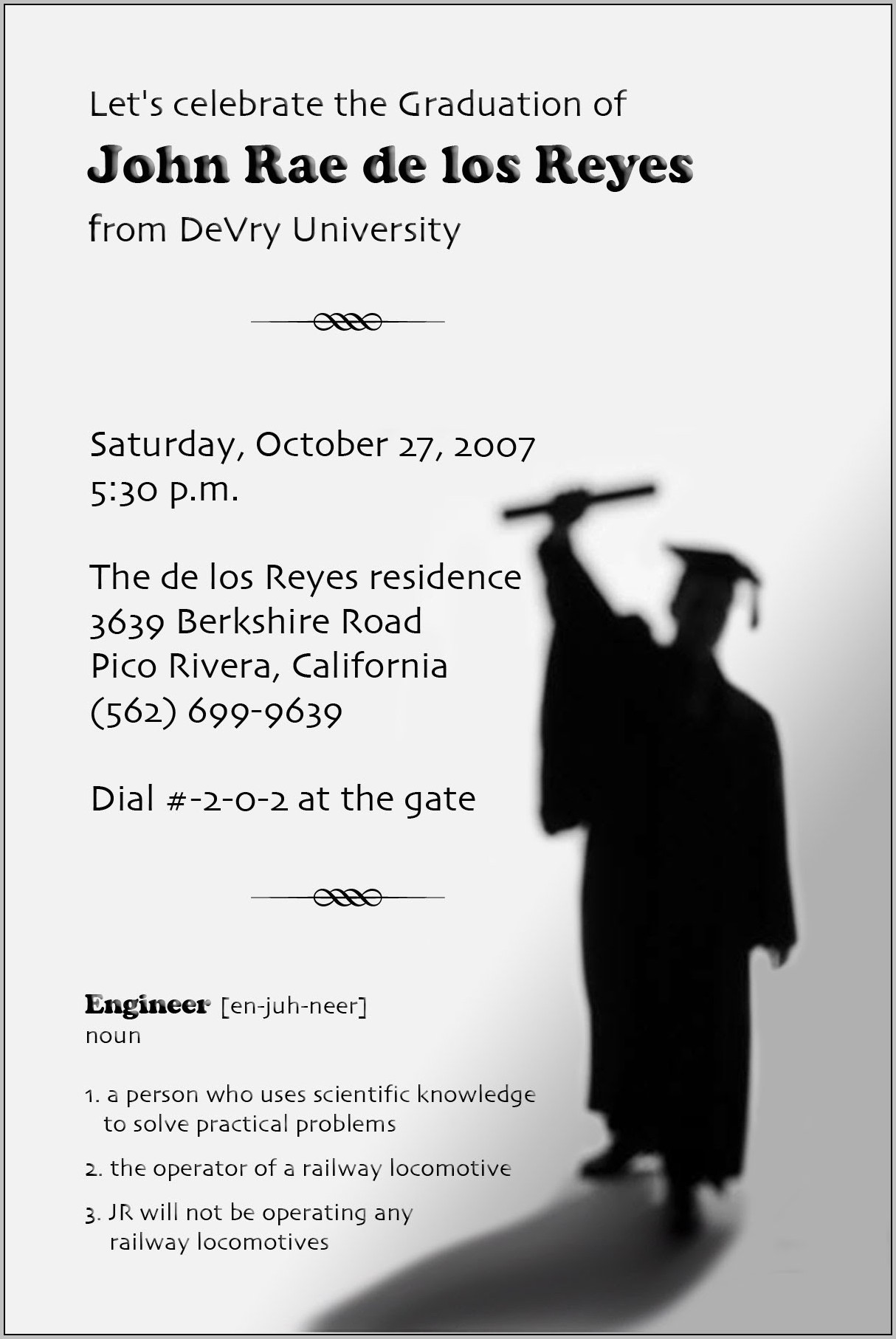 Create Graduation Invitations Online Free
