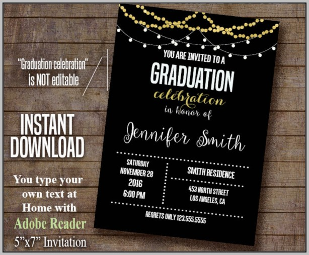 Design Graduation Announcements Online
