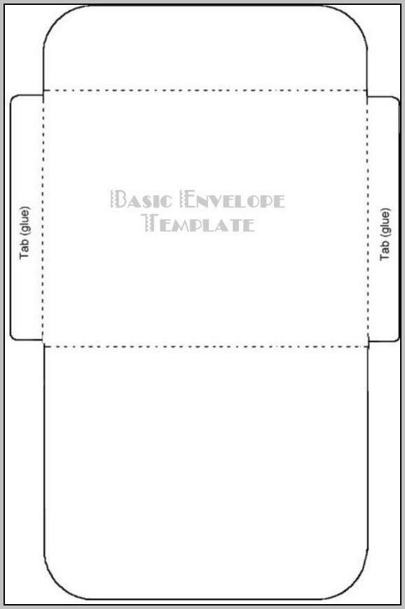 A9 Envelope Printing Template