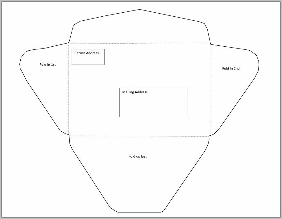 A9 Envelope Template