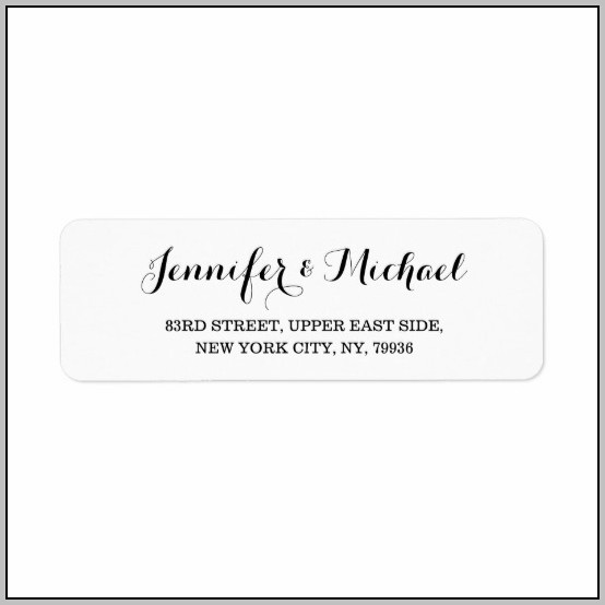 Address Label Creator