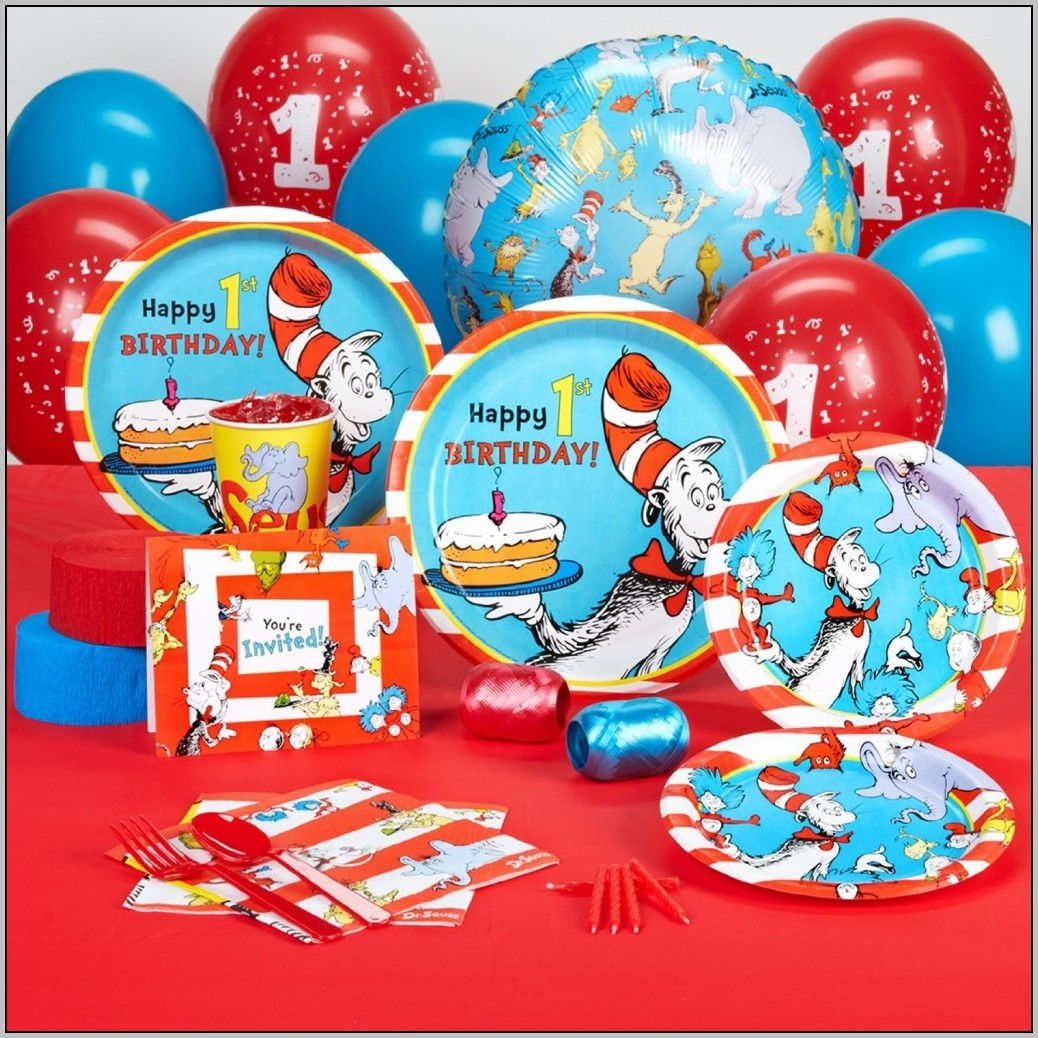 Baby's First Birthday Dr Seuss