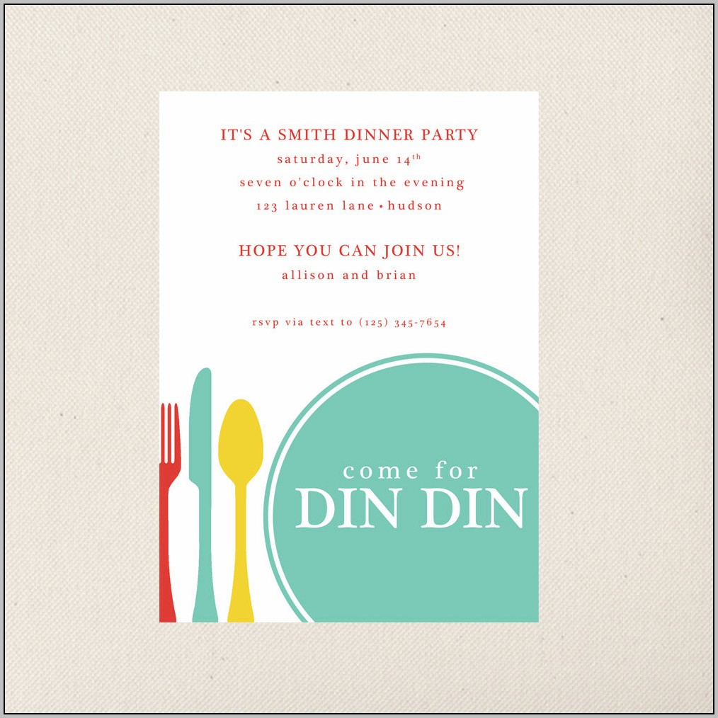 Banquet Invitation Design