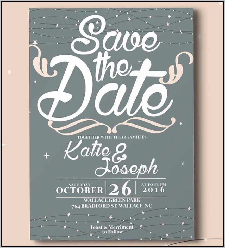 Basic Wedding Invitation Template
